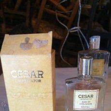 Miniaturas de perfumes antigos: ANTIGUA BOTELLA DE COLONIA / PERFUME MARCA CESAR EMPERATOR EAU DE TOILETE, DE LOS AÑOS 70. Lote 51202306