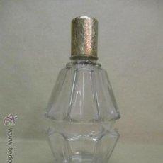 Miniaturas de perfumes antiguos: PERFUMERO DE CRISTAL DE 16,5 CM . Lote 51766966