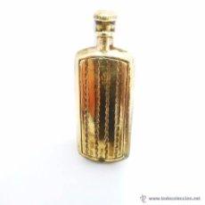 Miniaturas de perfumes antiguos: ANTIGUO PERFUMERO CHAPADO EN ORO ART DECO PRINCIPIOS S.XX. Lote 47415422
