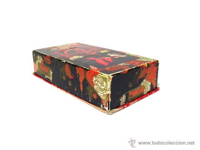 Miniaturas de perfumes antiguos: CAJA DE COLONIA Y JABÓN MAJA DE MYRURGIA + 2 CAJAS JABON VACIAS - Foto 11 - 46417215