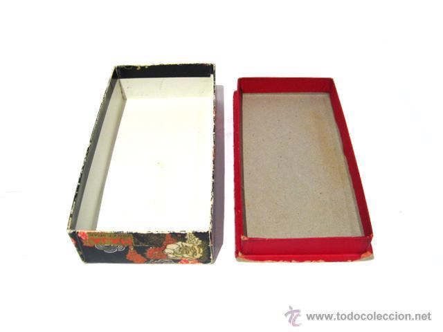 Miniaturas de perfumes antiguos: CAJA DE COLONIA Y JABÓN MAJA DE MYRURGIA + 2 CAJAS JABON VACIAS - Foto 12 - 46417215
