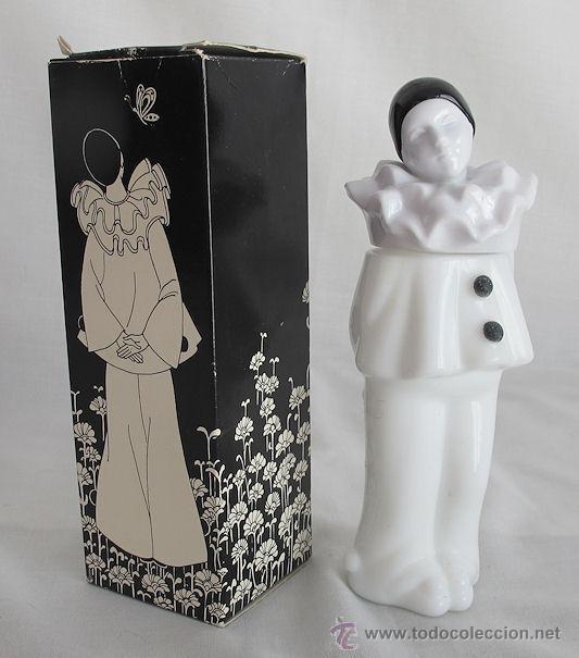 FRASCO ANTIGUO DE AVON NUEVO PIERROT EN CAJA (Coleccionismo - Miniaturas de Perfumes)