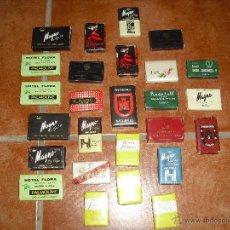 Miniaturas de perfumes antiguos: LOTE DE PASTILLAS PASTILLA JABON . Lote 52905166
