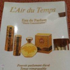 Miniaturas de perfumes antiguos: MUESTRA MINIATURA COLONIA L´AIR DU TEMPS NINA RICCI. Lote 52920889
