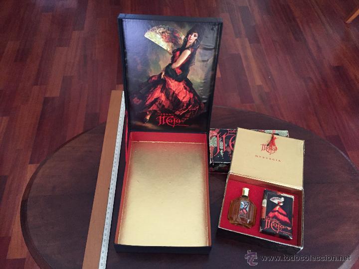 CAJA DE COLONIA Y JABÓN MAJA DE MYRURGIA + 2 CAJAS JABON VACIAS (Coleccionismo - Miniaturas de Perfumes)
