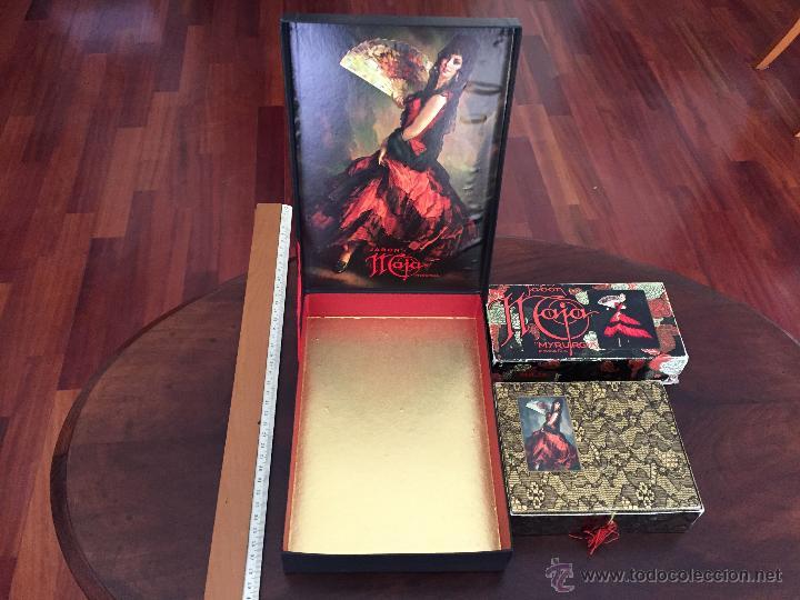 Miniaturas de perfumes antiguos: CAJA DE COLONIA Y JABÓN MAJA DE MYRURGIA + 2 CAJAS JABON VACIAS - Foto 13 - 46417215