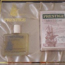 Miniaturas de perfumes antiguos: PRESTIGE AFTER SHAVE. Lote 53632621