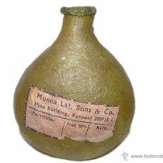 Miniaturas de perfumes antiguos: ANTIGUO Y RARISIMO ENVASE DE TRIPA DE PERFUME FRAGANCIA- MUNNA LAL SONS & CO. Lote 47227957