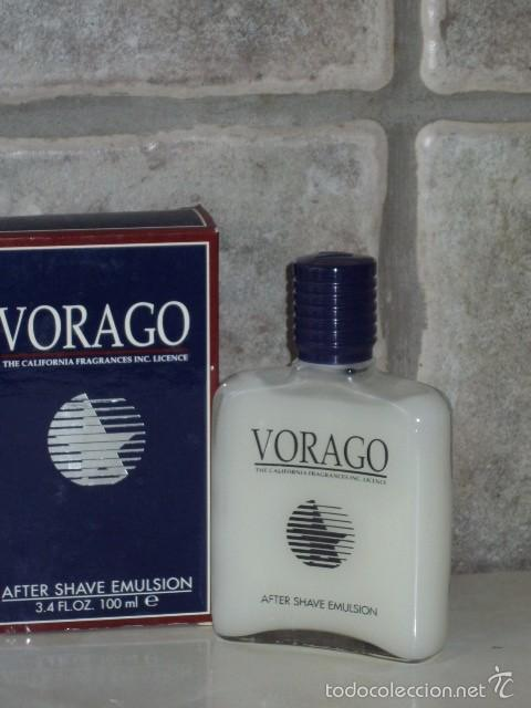 Miniaturas de perfumes antiguos: VORAGO MASAJE,AFTER SHAVE.MYRURGIA DESCATALOGADO. - Foto 2 - 55808844