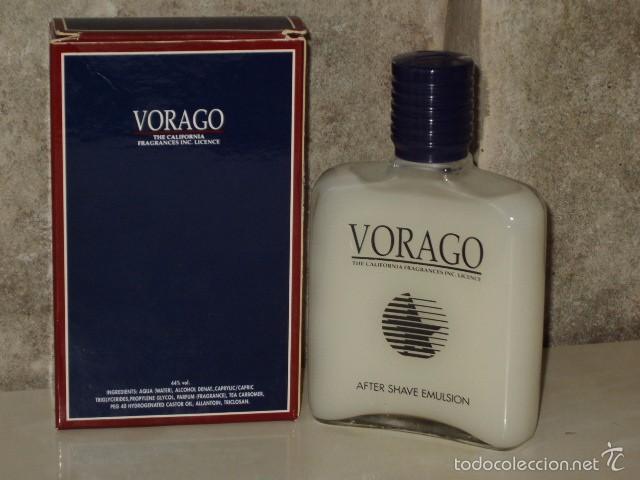 Miniaturas de perfumes antiguos: VORAGO MASAJE,AFTER SHAVE.MYRURGIA DESCATALOGADO. - Foto 3 - 55808844