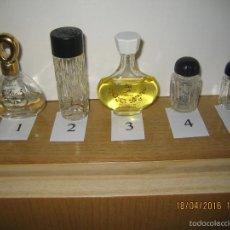Miniaturas de perfumes antiguos: FRASCOS MINIATURA DE PERFUME - ENVIO GRATIS. Lote 56213763
