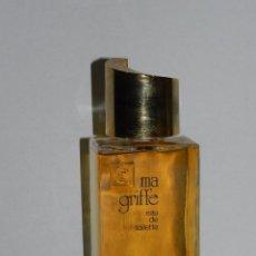 Miniaturas de perfumes antiguos: (M) BOTELLA DE PERFUME - CARVEN , PARIS, MA GRIFFE EAU DE TOILETTE , SIN ABRIR, 16 X 7 CM. Lote 56370676