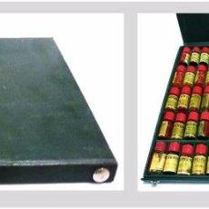 Miniaturas de perfumes antiguos: ESTUCHE ESENCIA MUESTRAS DE PERFUME MAESTRO PERFUMISTA- LAUTIER FILS GRASSE PROVENZA FRANCIA AÑOS 30. Lote 57021949