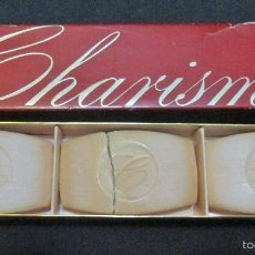 Miniaturas de perfumes antiguos: CHARISMA, 3 JABONES PERFUMADOS DE AVON. Lote 103492244