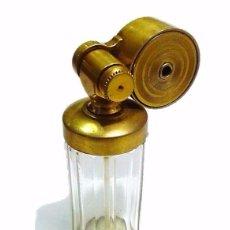 Miniaturas de perfumes antiguos: ANTIGUO ATOMIZER PERFUMERO EN CRISTAL DE BACCARAT ART DECO - ESCALE MARCEL FRANCK PARIS 1920-30. Lote 53341433