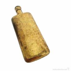 Miniaturas de perfumes antiguos: ANTIGUO PERFUMERO DE LATON. Lote 45663367