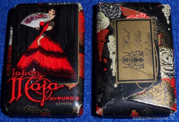 JABON MAJA - MYRURGIA (Coleccionismo - Miniaturas de Perfumes)