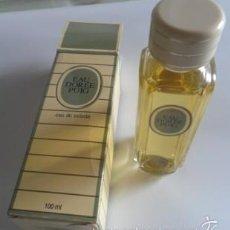 Miniaturas de perfumes antiguos: COLONIA EAU DE TOILETTE EAU DOREE PUIG. 100 ML. Lote 58609484