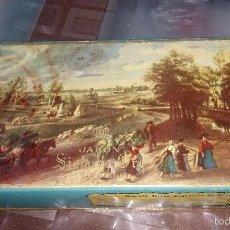 Miniaturas de perfumes antiguos: CAJA VACÍA DE JABÓN - SIGLO DE ORO VERA. Lote 59838828