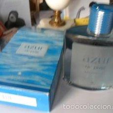 Miniaturas de perfumes antiguos: COLONIA AZUR DE PUIG, EAU DE FRAICHE, 200 ML. Lote 60921655