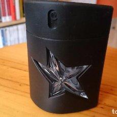 Miniaturas de perfumes antiguos: BOTELLA DE PERFUME ANGEL DE HOMBRE, VACIA. Lote 130749400