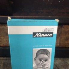 Miniaturas de perfumes antiguos: JABÓN LÍQUIDO NENUCO A ESTRENAR. Lote 63396012