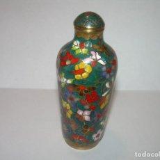 Miniaturas de perfumes antiguos: PERFUMERO ESMALTADO......CLOISONNE. Lote 64042031