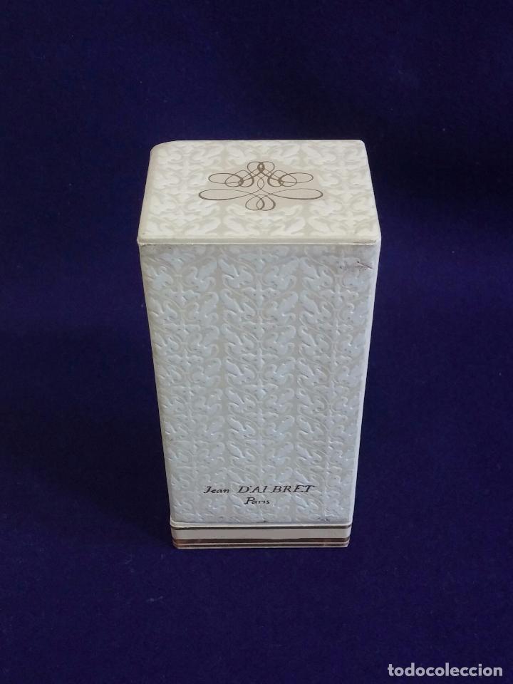 Miniaturas de perfumes antiguos: ANTIGUO FRASCO DE PERFUME J.A. PRINCESSE DALBRET. JEAN DALBRET PARIS. 1960. EN CAJA ORIGINAL. RARO - Foto 5 - 65980714
