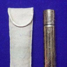 Miniaturas de perfumes antiguos: ANTIGUO PERFUMERO Y LAPIZ DE LABIOS. TANGEE. THE GEO. W. LUFT CO. USA. NEW YORK. AÑOS 60. PERFUME. Lote 67018230
