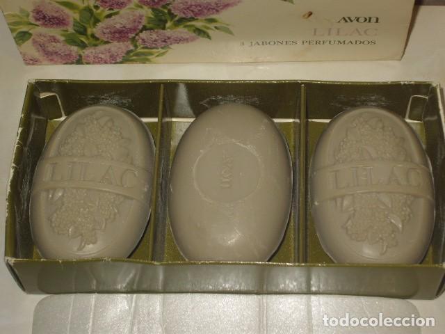 Miniaturas de perfumes antiguos: JABON AVON,CAJA DE 3 JABONES AVON. - Foto 2 - 67864769