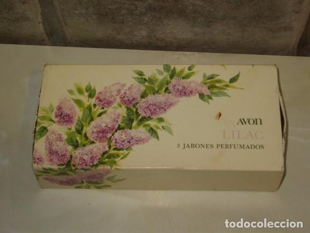 Miniaturas de perfumes antiguos: JABON AVON,CAJA DE 3 JABONES AVON. - Foto 3 - 67864769