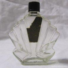 Miniaturas de perfumes antiguos: FRASCO DE PERFUME MODERNISTA PRINCIPIOS DEL SIGLO XX VIDRIO Y BAQUELITA. Lote 68272041