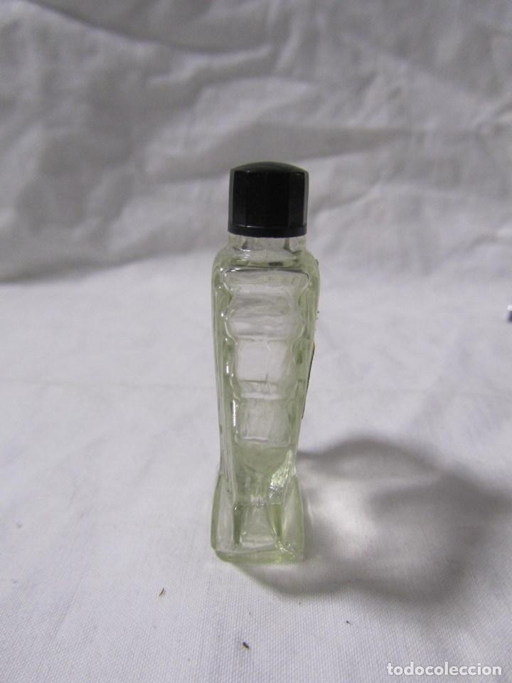 Miniaturas de perfumes antiguos: Frasco de perfume modernista Principios del siglo XX Vidrio y baquelita - Foto 8 - 68272041