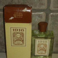 Miniaturas de perfumes antiguos: COLONIA 1916 MYRURGIA 200ML.. Lote 72695551