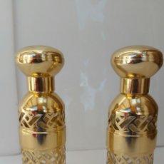 Miniaturas de perfumes antiguos: GUERLAIN BOTELLAS RECARGABLES INCLUYE FRASCOS. Lote 73756418