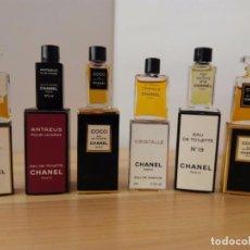 Échantillons de parfums anciens: MINIATURAS DE PERFUME CHANEL. Lote 194404345