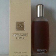 Miniaturas de perfumes antiguos: AROMÁTICS ELIXIR .100 ML .CLINIQUE. PERFUME. Lote 76869187