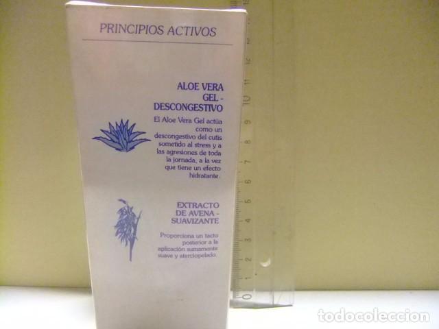 Miniaturas de perfumes antiguos: DON ALGODON gel desmaquillador VINTAGE - Foto 3 - 77918021