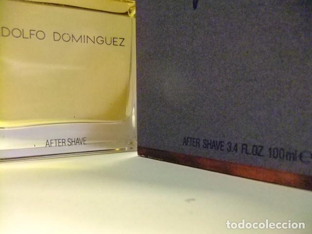 Miniaturas de perfumes antiguos: ADOLFO DOMINGUEZ de MYRURGIA AFTER SHAVE VINTAGE 100 ml - Foto 2 - 77934109