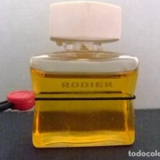 Miniaturas de perfumes antiguos: MINIATURE EAU DE TOILETTE - RODIER - PARIS - 0.17 FL OZ 5 ML . Lote 110279230