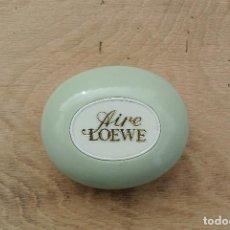 Miniaturas de perfumes antiguos: PASTILLA DE JABON LOEWE. Lote 78469553