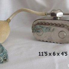 Miniaturas de perfumes antiguos: PERFUMERO ANTIGUO TANQUE PRIMERA GUERRA MUNDIAL. Lote 78595133