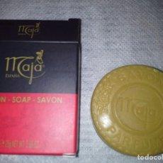 Miniaturas de perfumes antiguos: JABONCITO NUEVO EN SU CAJITA DE LA MAJA (MYRURGIA). Lote 79029669