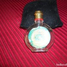 Miniaturas de perfumes antiguos: MUY ANTIGUO FRASCO DE PERFUME Nº 4711.POR LA PARTE DE ATRÁS TRAE UNA CATEDRAL.. Lote 81203928