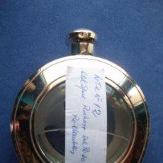 Miniaturas de perfumes antiguos: FRASCOS COLONIA (3) OLDSPICE+RDPOZO+ROCHAS FRASCOS DE CRISTAL RELLENABLES PDELUXE. Lote 81654636