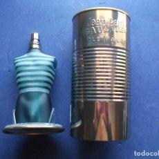 Miniaturas de perfumes antiguos: FRASCO COLONIA (1) JEAN PAUL GAULTIER -EAU TOILETTE. CON EL BOTE METALICO - PDELUXE . Lote 81657872
