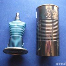 Miniaturas de perfumes antiguos: FRASCO COLONIA (1) JEAN PAUL GAULTIER - EAU TOILETTE CON EL BOTE METALICO - PDELUXE. Lote 81658172
