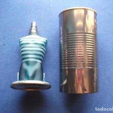 Miniaturas de perfumes antiguos: FRASCO COLONIA (1) JEAN PAUL GAULTIER -EAU TOILETTE. CON EL BOTE METALICO - PDELUXE . Lote 81658776
