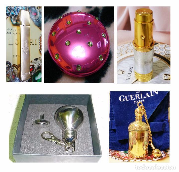 X4 PERFUMEROS + 1 MINIATURA LLAVERO (VINTAGE) (Coleccionismo - Miniaturas de Perfumes)
