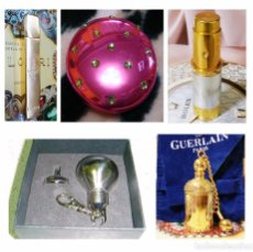 Miniaturas de perfumes antiguos: X4 PERFUMEROS + 1 MINIATURA LLAVERO (VINTAGE). Lote 82014916